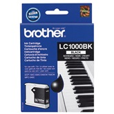 BROTHER EREDETI Tintapatron black, LC1000, DCP130C,330C,540CN,750CW,MFC240C